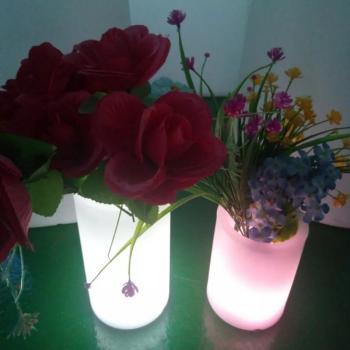 Беспроводной светодиодный светильник-ваза с пультом ДУ R5-0092